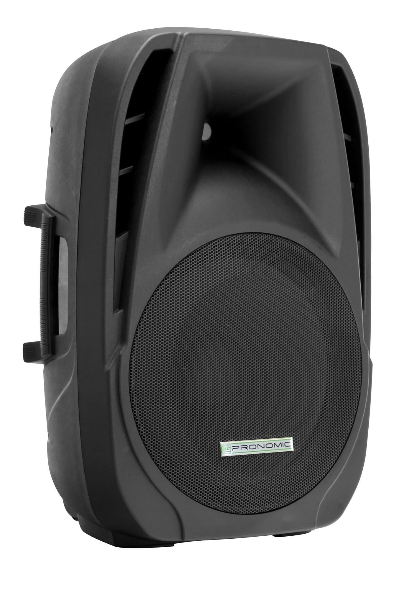 Pronomic PH15A Aktivbox Lautsprecher MP3|Bluetooth 200|350 Watt Retoure (Zustand akzeptabel)