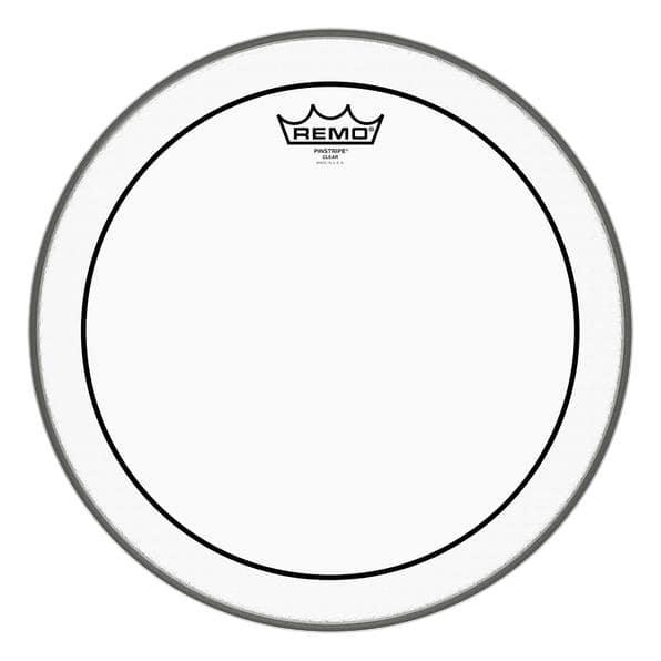 Remo 22' Pinstripe Clear Bass Drum