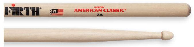 Vic Firth Holz Drumsticks American Classic 7A