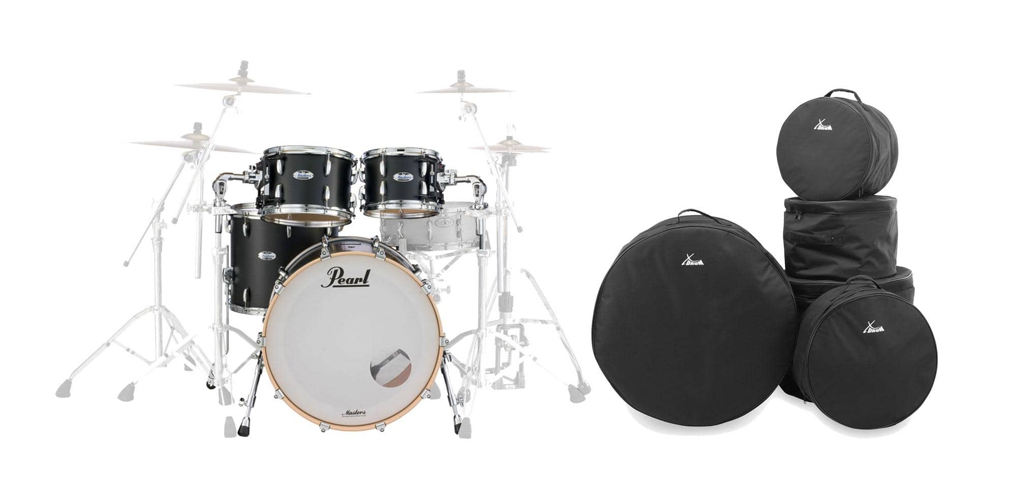 Pearl MCT924XEFP|C339 Shell Kit MCB Set inkl. Gigbags