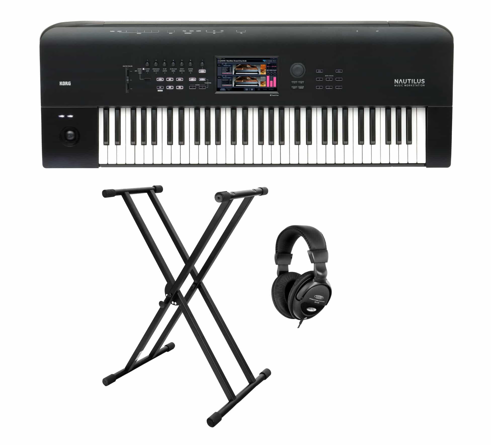 Synthesizer - Korg Nautilus 61 Synthesizer Set - Onlineshop Musikhaus Kirstein