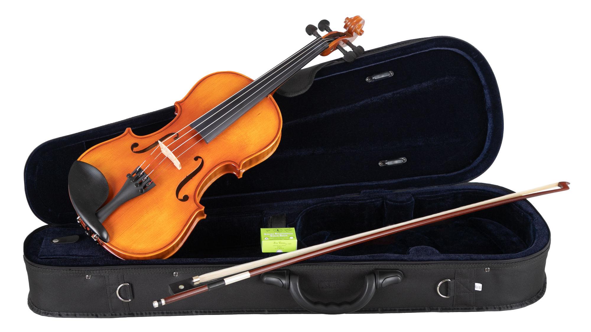 Violinen - Petz YB45VNV Violinset 4|4 spielfertig - Onlineshop Musikhaus Kirstein