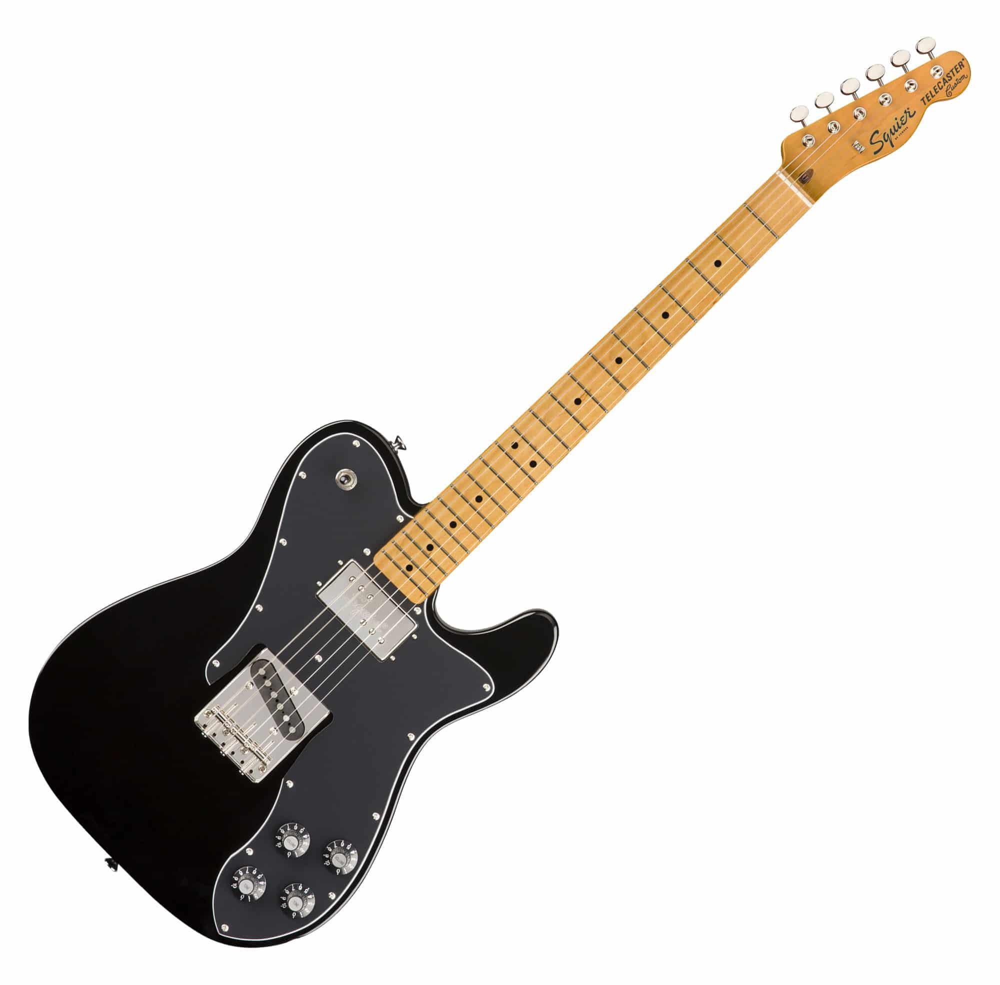 Egitarren - Fender Squier Classic Vibe '70s Tele Custom MN BLK - Onlineshop Musikhaus Kirstein