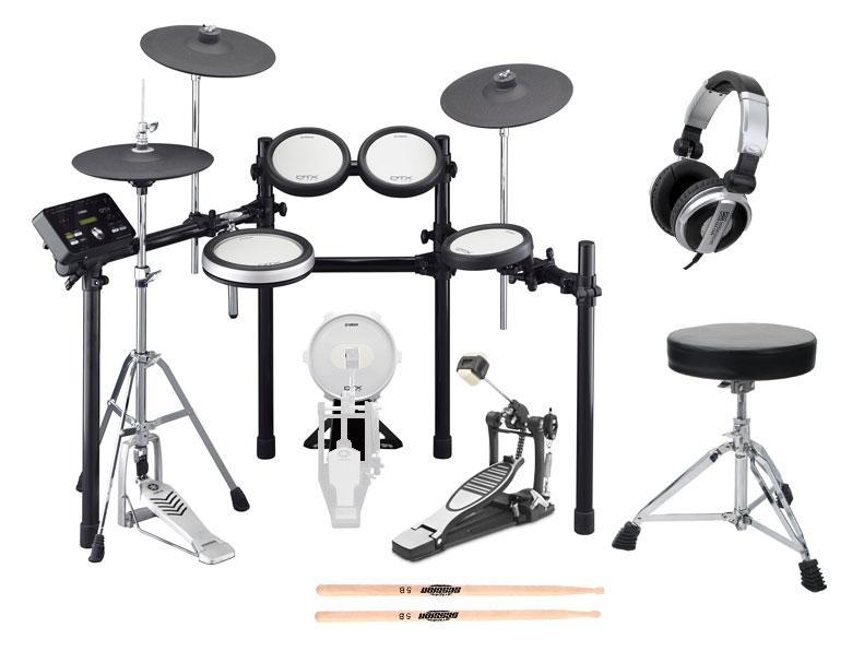 Yamaha DTX582K Compact E Drum Kit SET 1 Hocker, Sticks, Kopfhörer