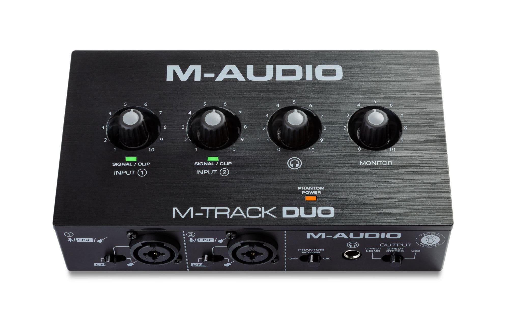 Pchardware - M Audio M Track Duo - Onlineshop Musikhaus Kirstein