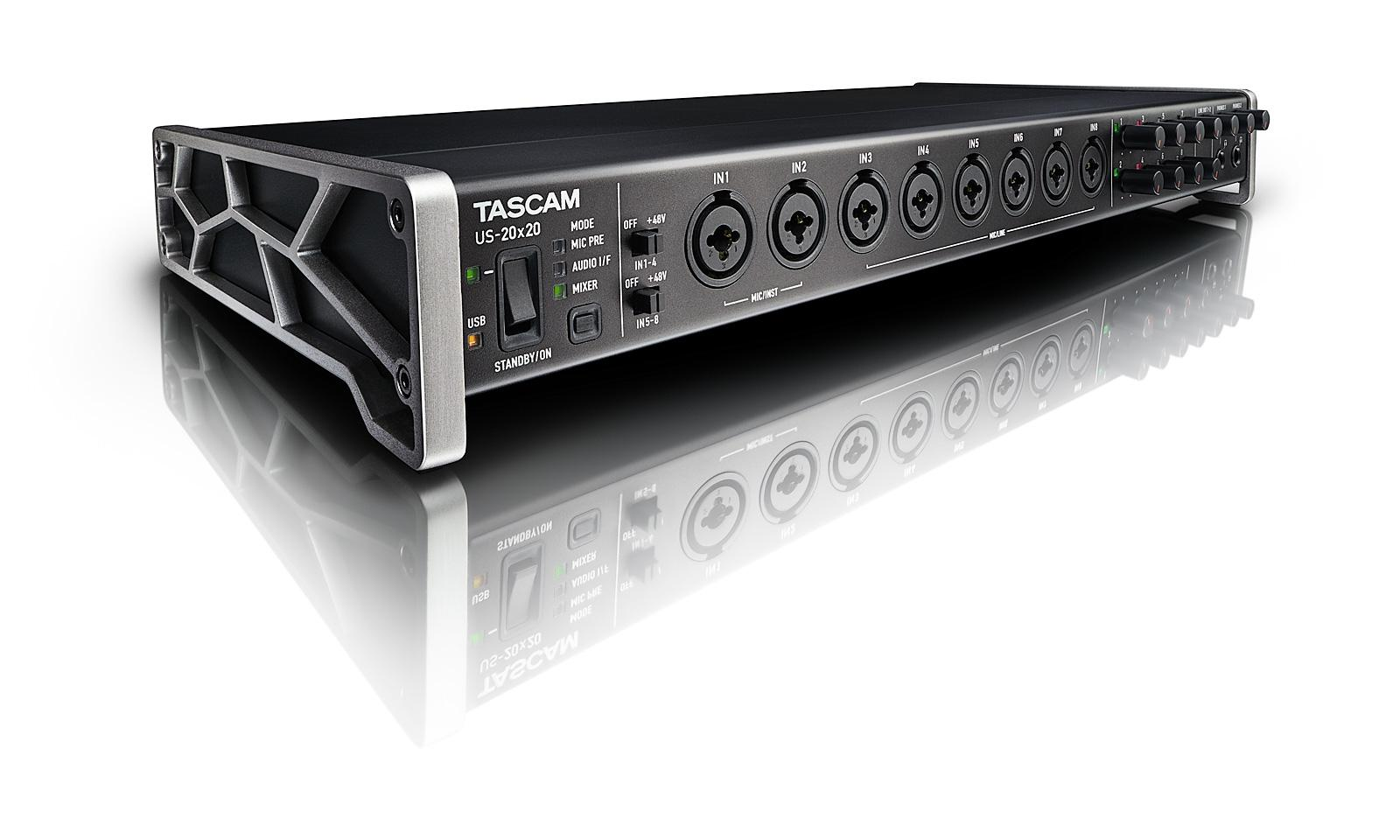 Tascam US 20x20 USB Audio Interface