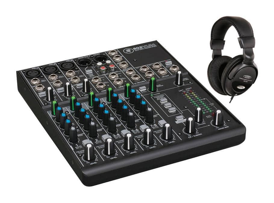 Mischpulte - Mackie 802VLZ4 Mischpult mit Kopfhörer Set - Onlineshop Musikhaus Kirstein