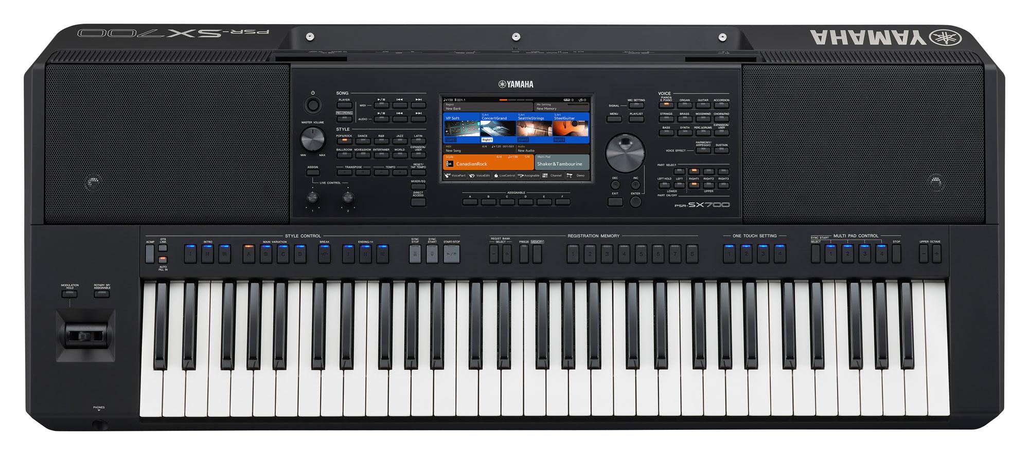 Homekeyboards - Yamaha PSR SX700 - Onlineshop Musikhaus Kirstein