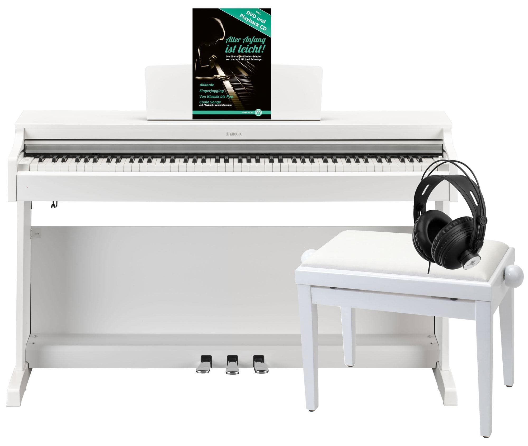 E Piano Yamaha : yamaha ydp 163 wh arius e piano wei matt deluxe set ~ Aude.kayakingforconservation.com Haus und Dekorationen