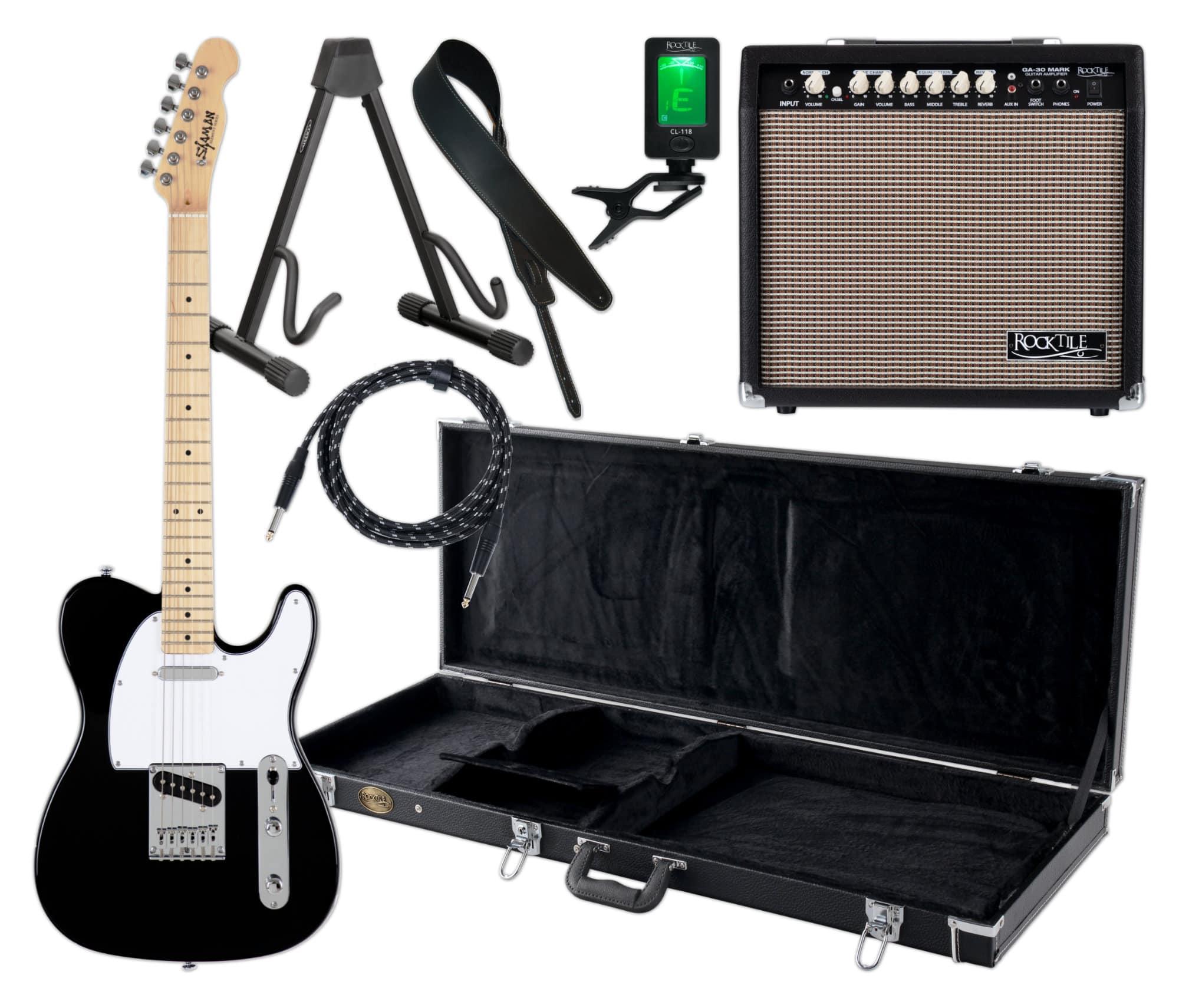 Egitarren - Shaman Element Series TCX 100B Komplett Set - Onlineshop Musikhaus Kirstein
