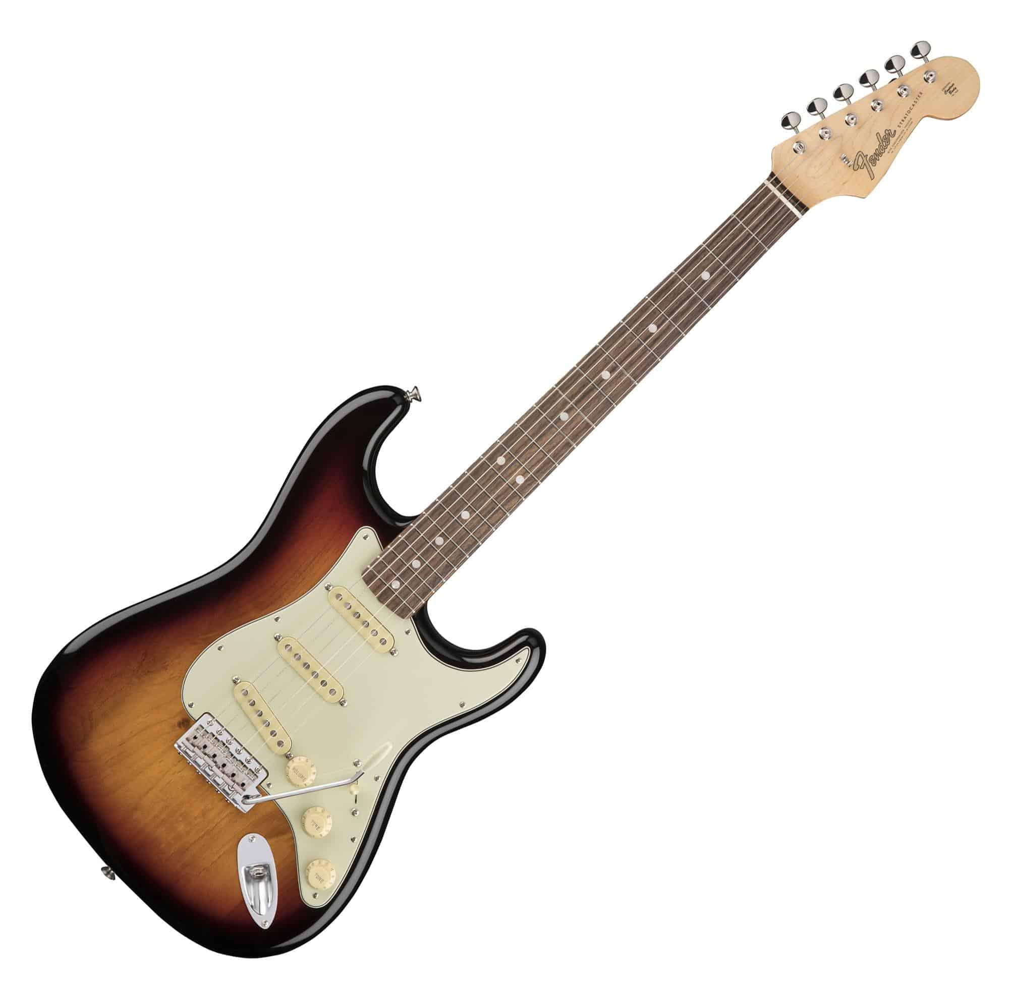Egitarren - Fender American Original 60's Strat RW 3CS - Onlineshop Musikhaus Kirstein