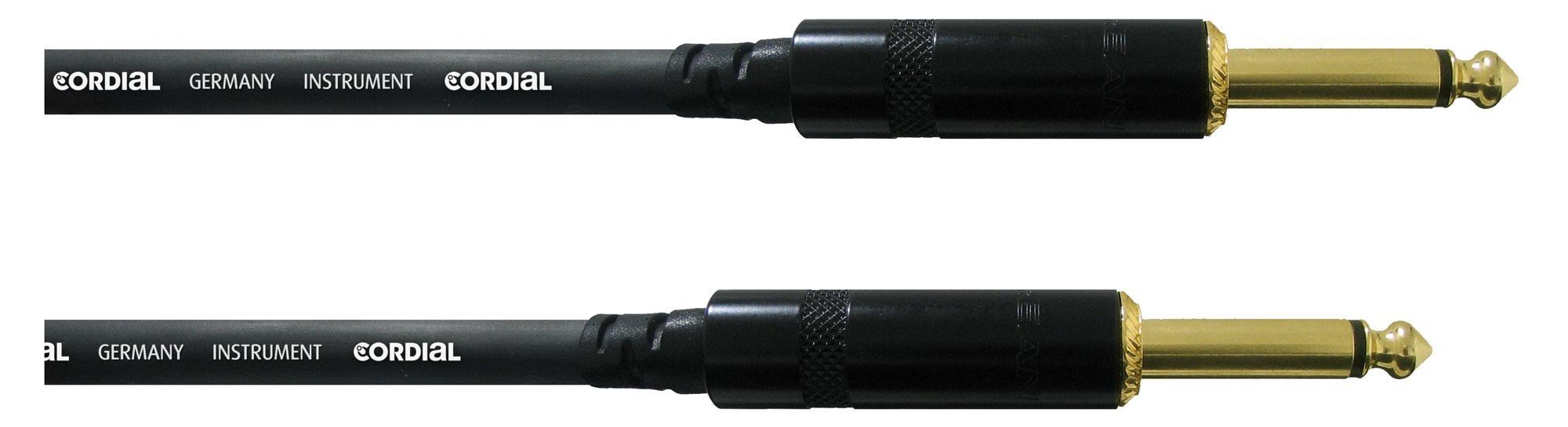 Kabelmulticores - Cordial CCI 3 PP Instrumentenkabel 3 m Schwarz - Onlineshop Musikhaus Kirstein