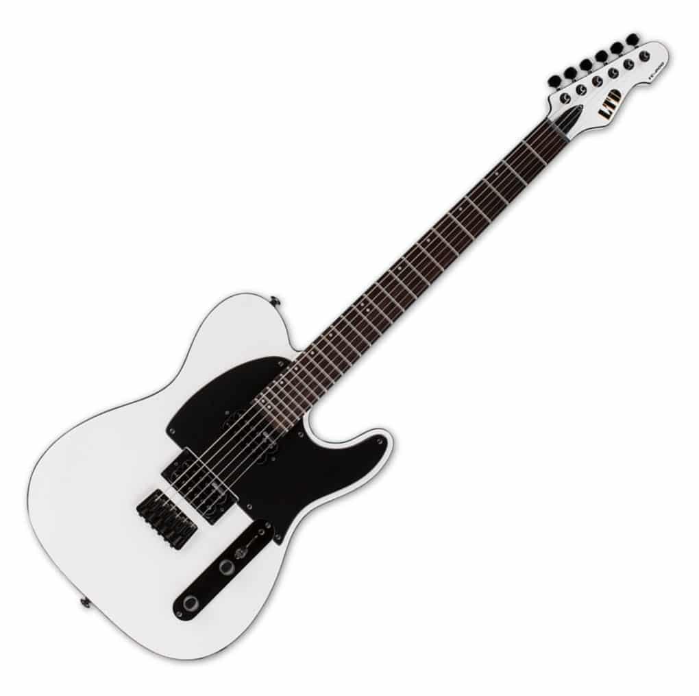 Egitarren - ESP LTD TE 200 Ebony SW - Onlineshop Musikhaus Kirstein