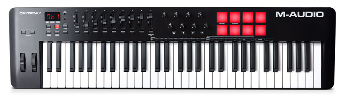 Midimasterkeyboards - M Audio Oxygen 61 MKV USB MIDI Keyboard - Onlineshop Musikhaus Kirstein