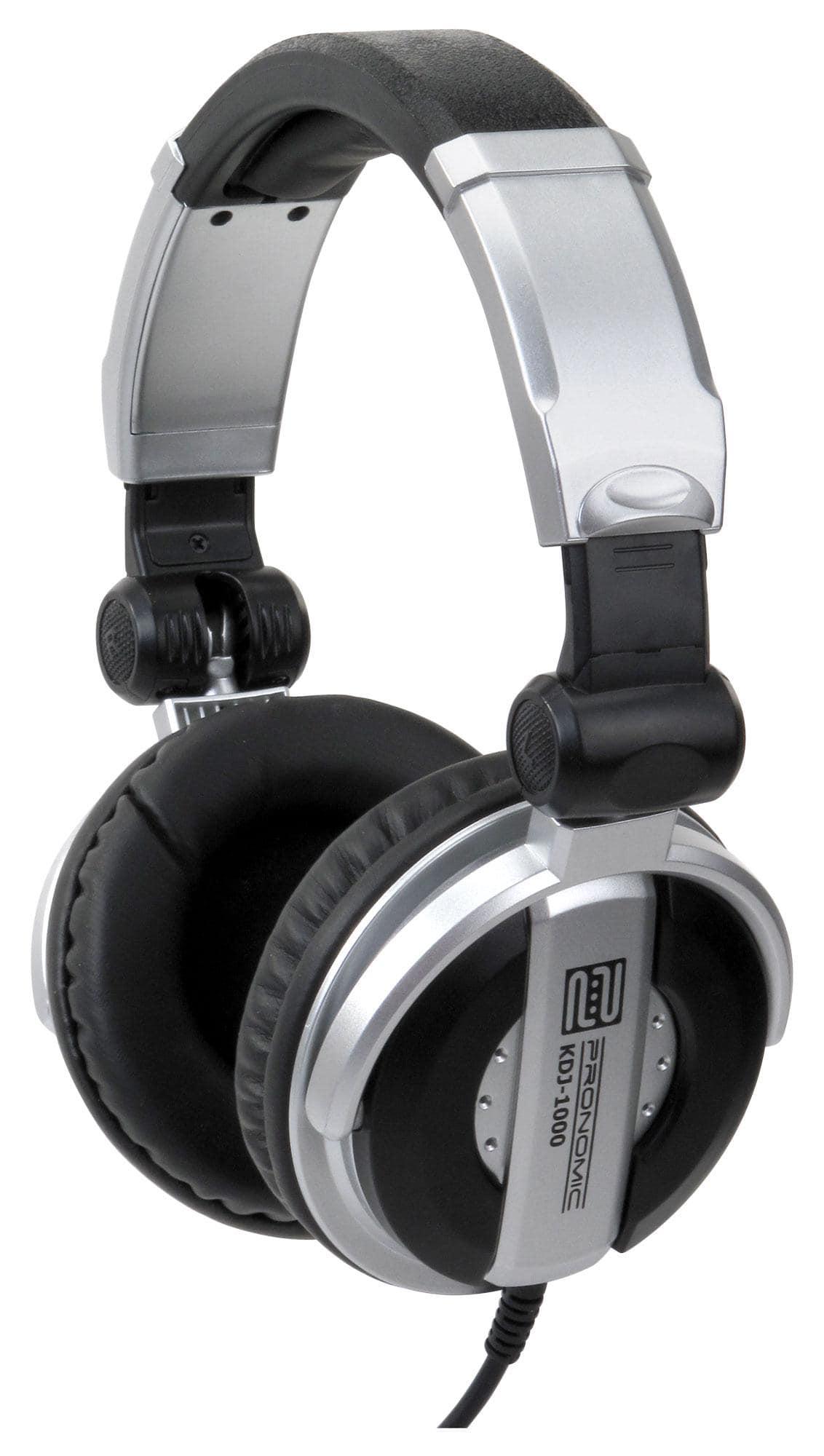 Pronomic KDJ 1000 DJ Kopfhörer Retoure (Zustand sehr gut)