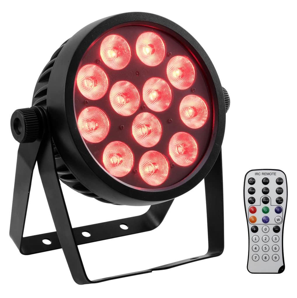 Scheinwerfer - Eurolite LED 4C 12 Silent Slim Spot - Onlineshop Musikhaus Kirstein