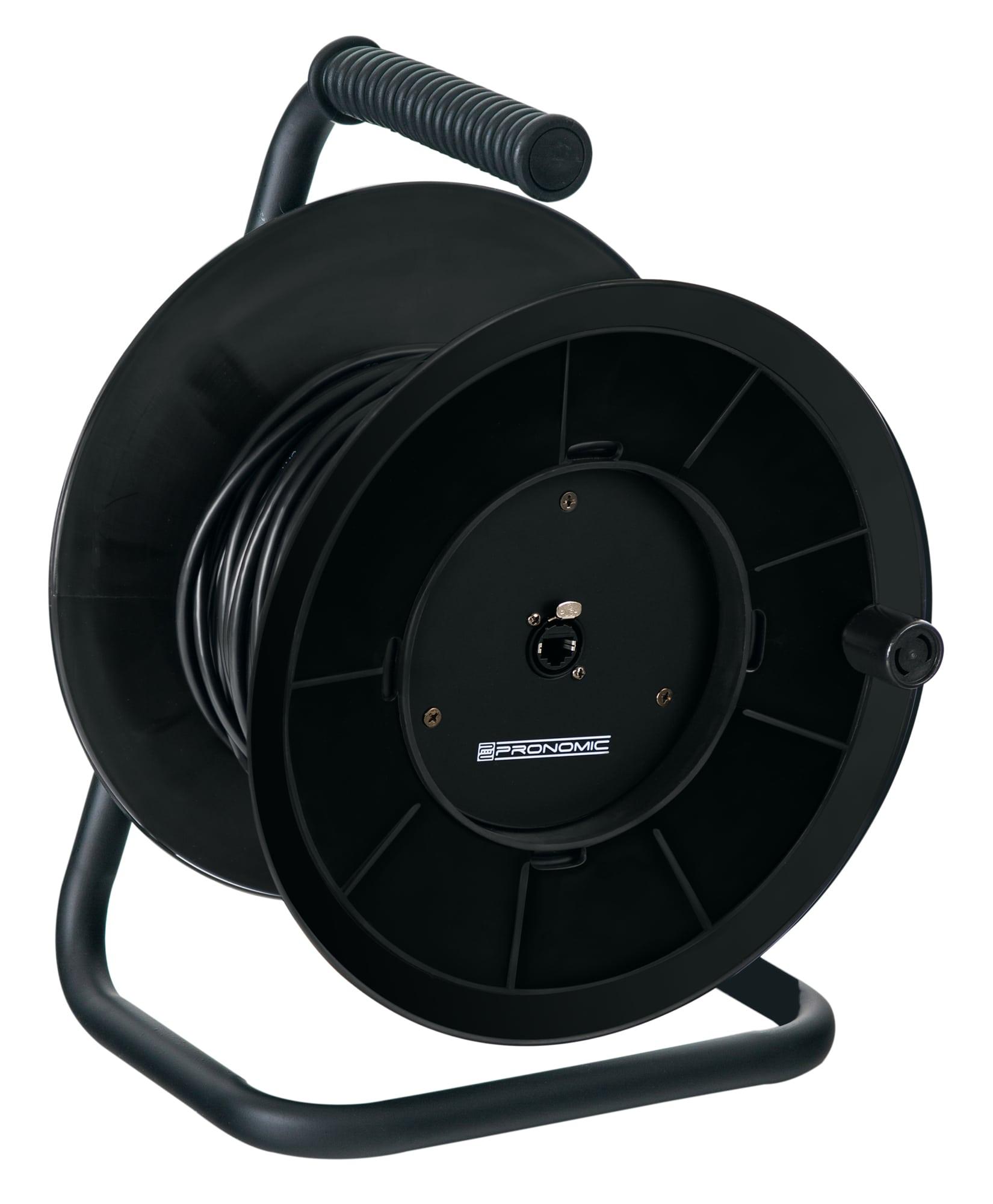Kabelmulticores - Pronomic Stage ECAT5 50 Ethernet Kabeltrommel 50m - Onlineshop Musikhaus Kirstein