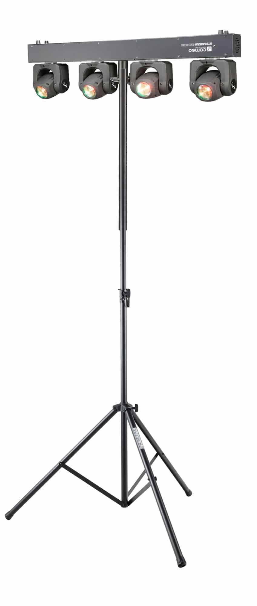 Lichtsets - Cameo HYDRABEAM 4000 RGBW Moving Head Bar Set - Onlineshop Musikhaus Kirstein