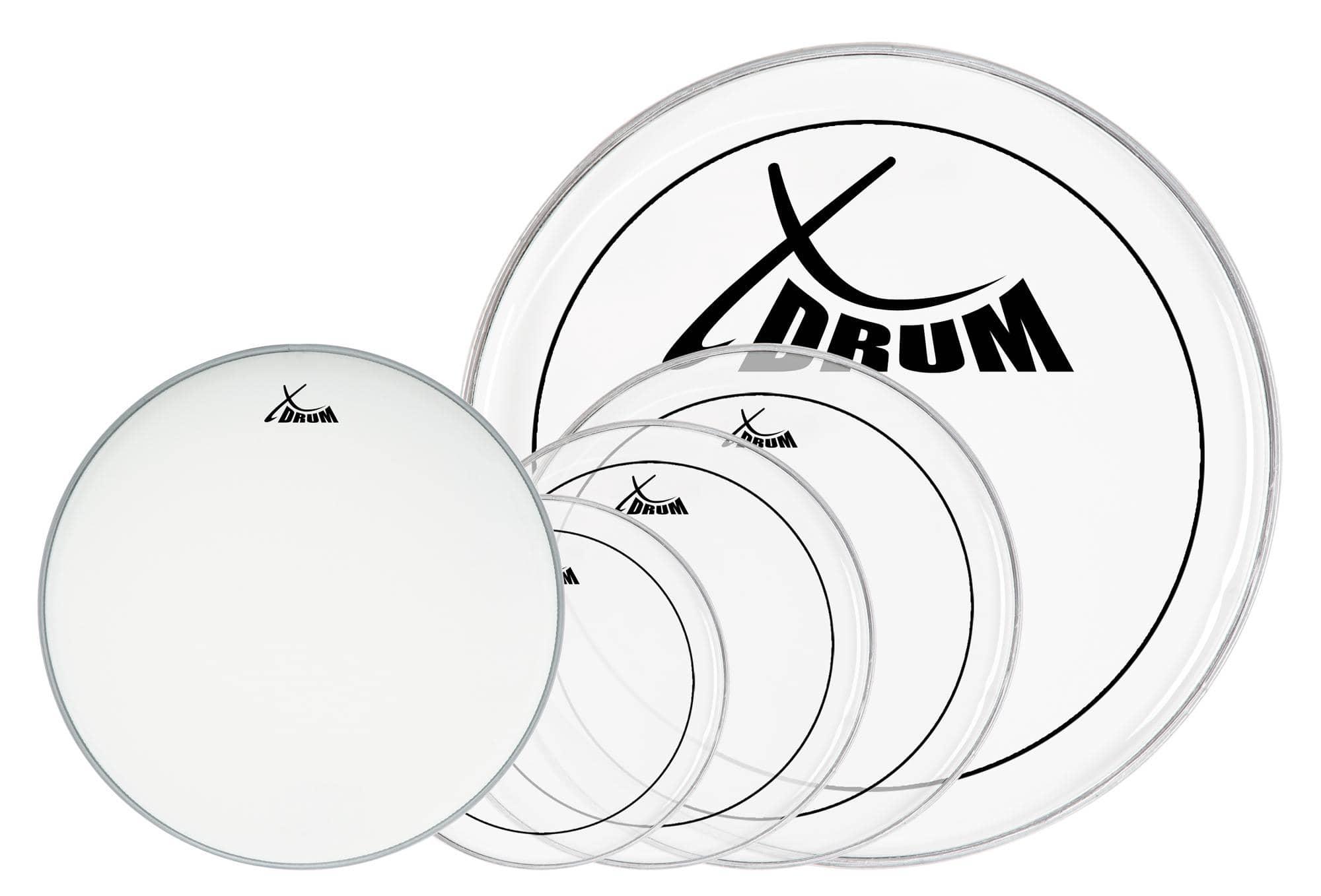 XDrum Oil Hydraulic Drumfell SET 10' 12' 14' 22' 14'