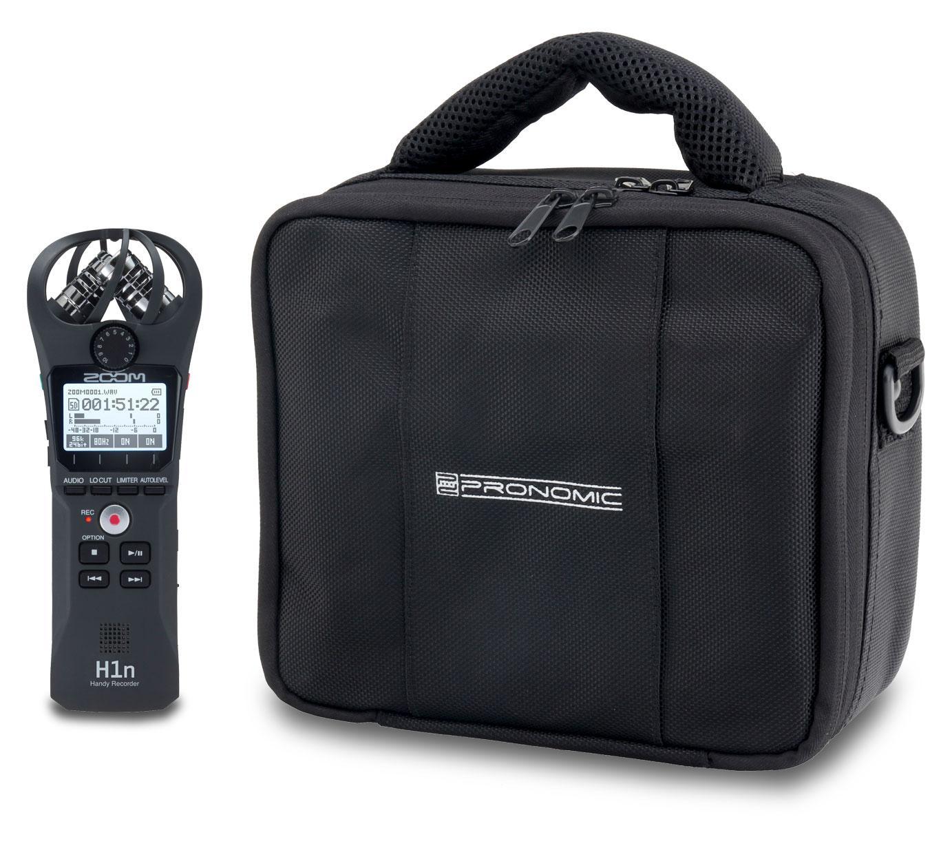 Zoom H1n Handyrecorder Set mit Flex Bag