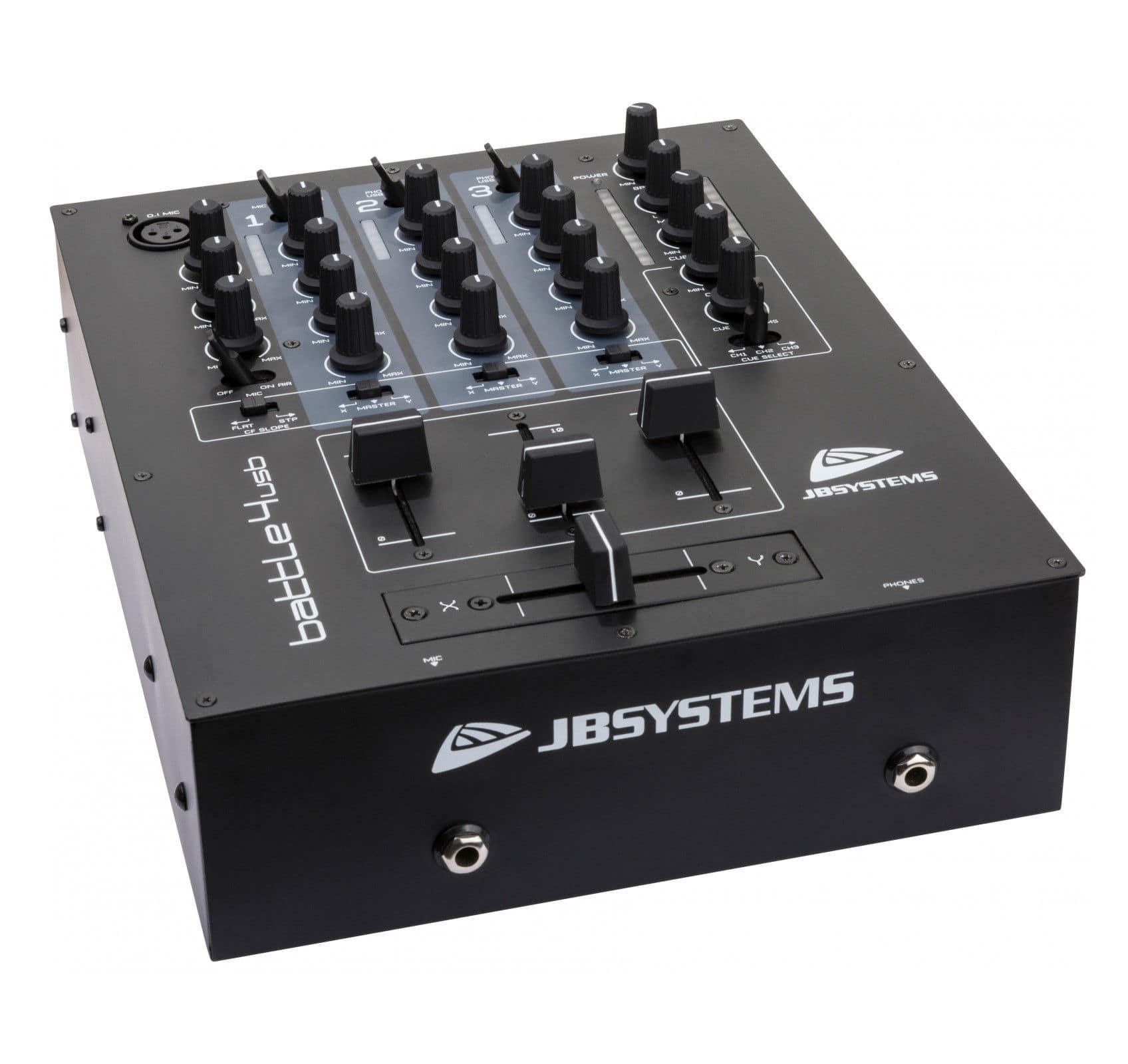 Djmixer - JB Systems Battle 4 USB - Onlineshop Musikhaus Kirstein