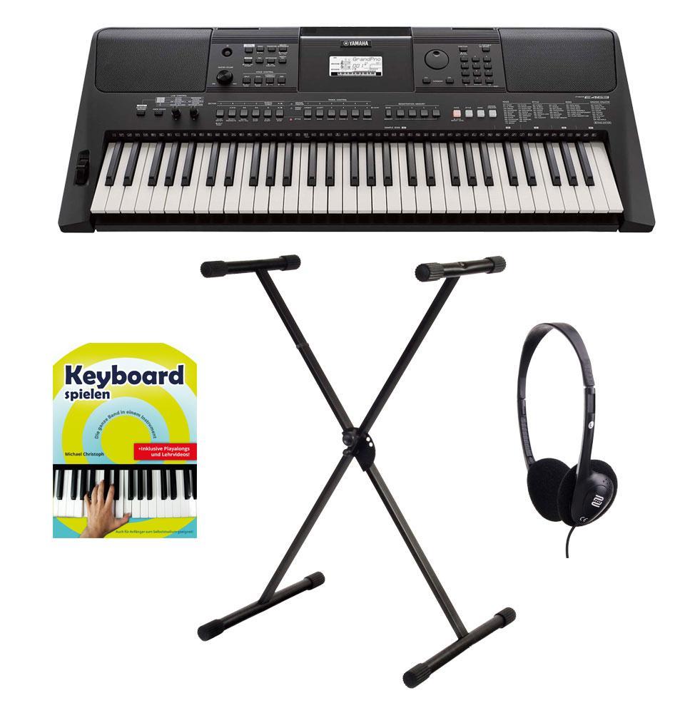 Yamaha PSR E463 Keyboard Set