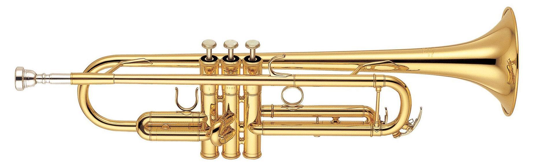 Yamaha Professional YTR 6335 Bb Trompete Goldlack