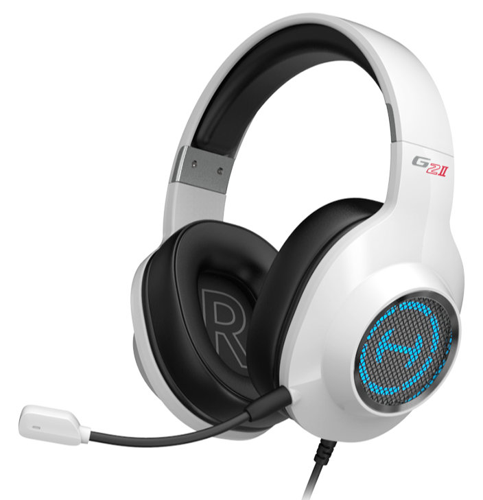 Kopfhoerer - Edifier G2 II Gaming Headset weiß - Onlineshop Musikhaus Kirstein