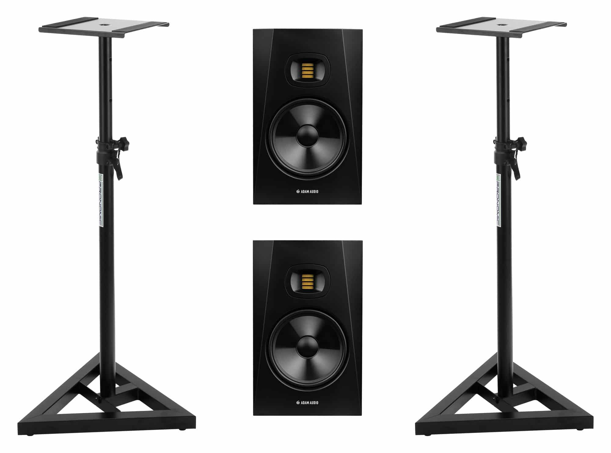 Studiomonitore - Adam Audio T8V Stativ Set - Onlineshop Musikhaus Kirstein