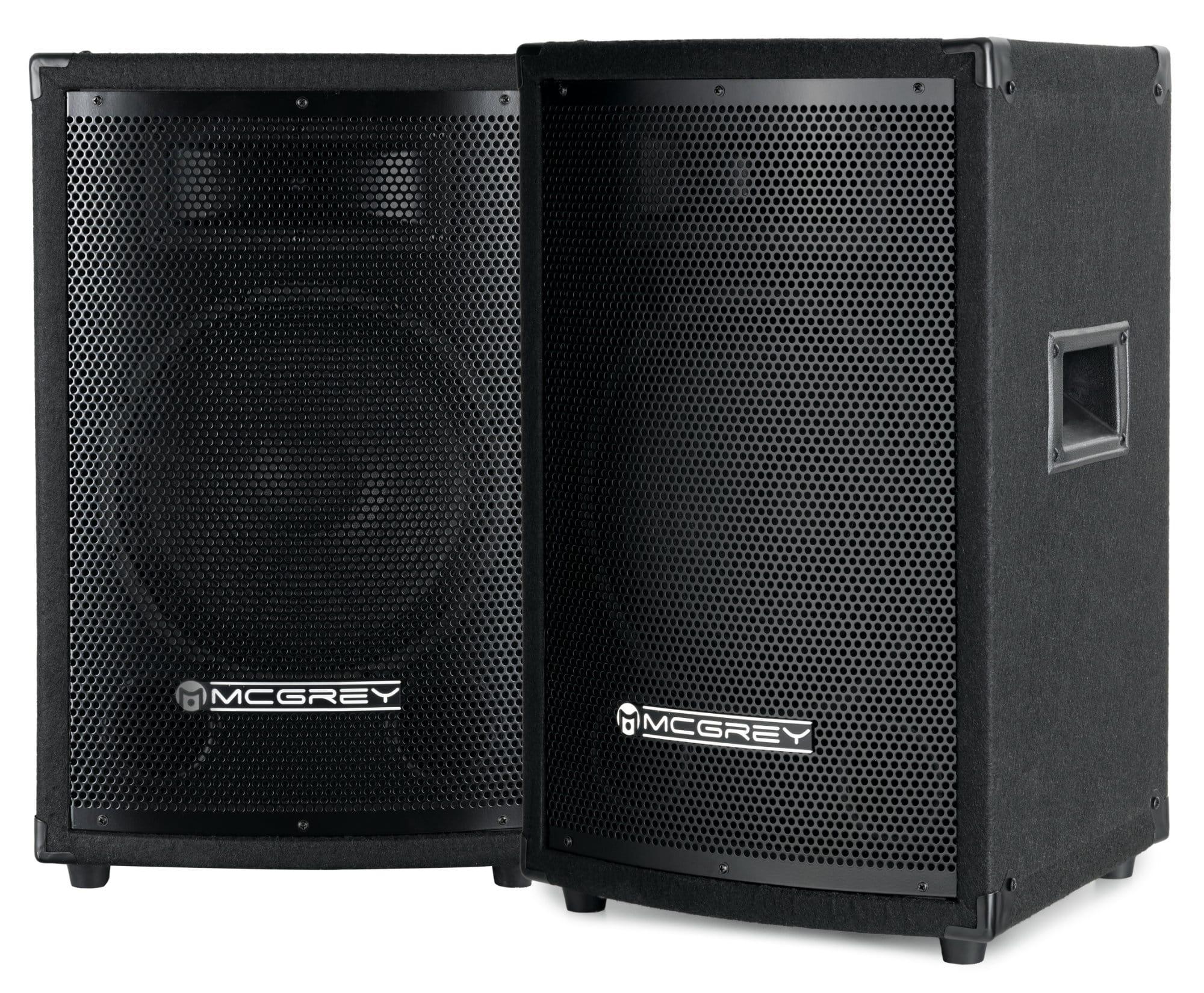 McGrey TP 10 DJ und Partybox Paar 2 x 400 W