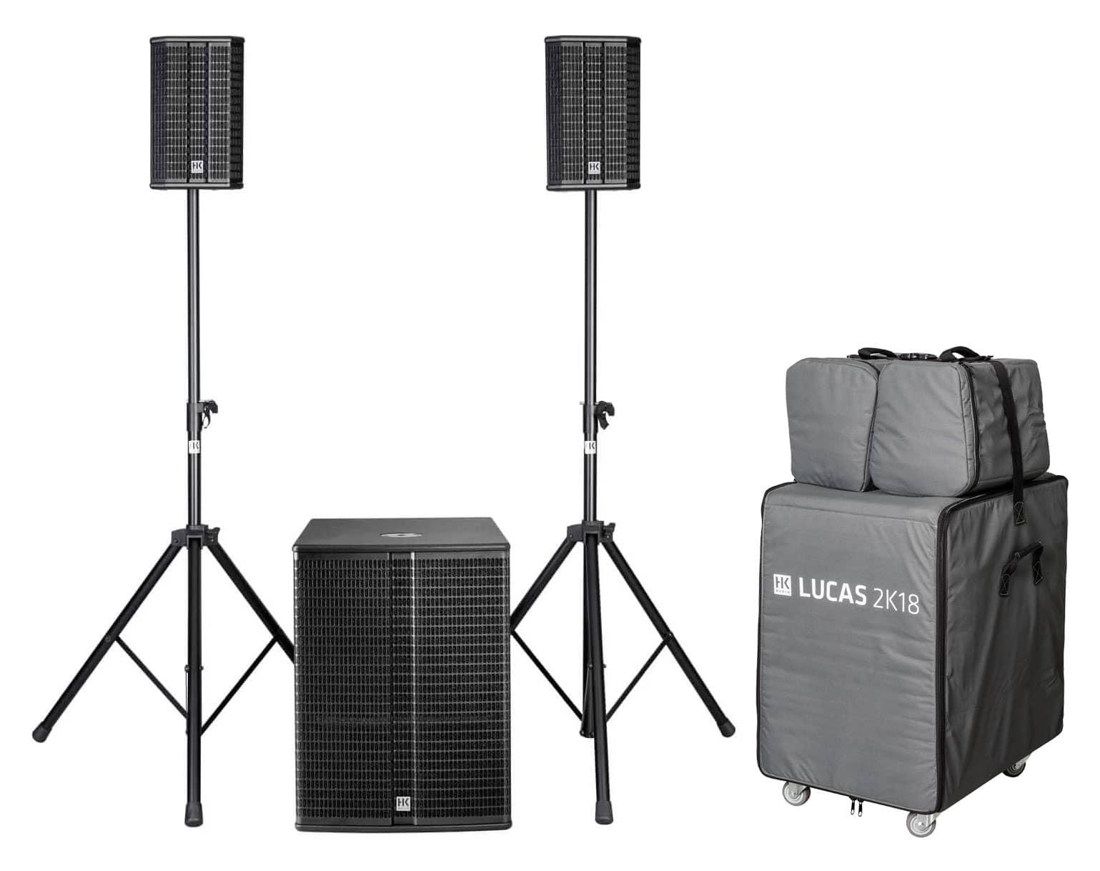 Boxenkomplettanlagen - HK Audio Lucas 2K18 System Aktivanlagen Komplettset - Onlineshop Musikhaus Kirstein