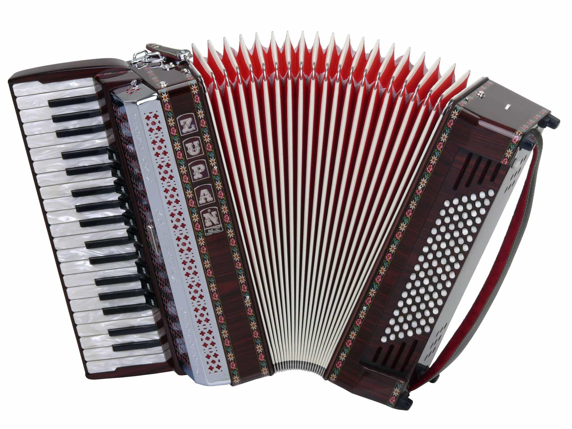 Akkordeons - Zupan Alpe IV 96 MH Akkordeon Palisander - Onlineshop Musikhaus Kirstein