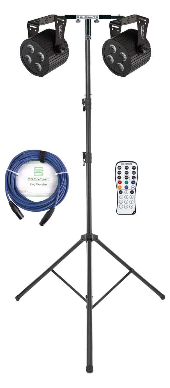Involight 412 PRO Silent LED Spot Dual Set