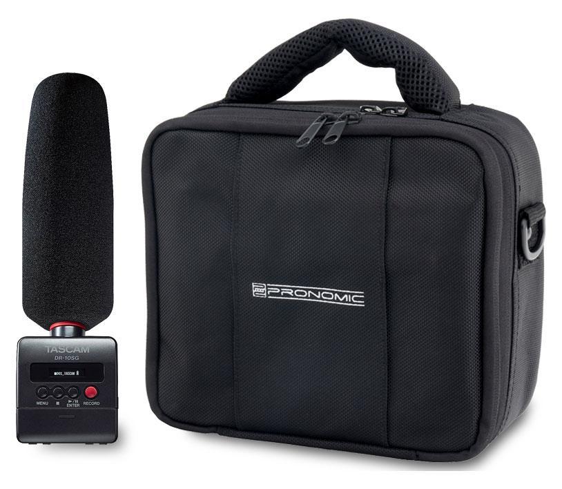 Recording - Tascam DR 10SG Kamera Recorder Set inkl. Tasche - Onlineshop Musikhaus Kirstein