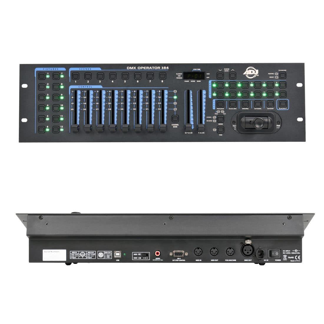 Lichtsteuerung - ADJ DMX Operator 384 DMX Controller - Onlineshop Musikhaus Kirstein
