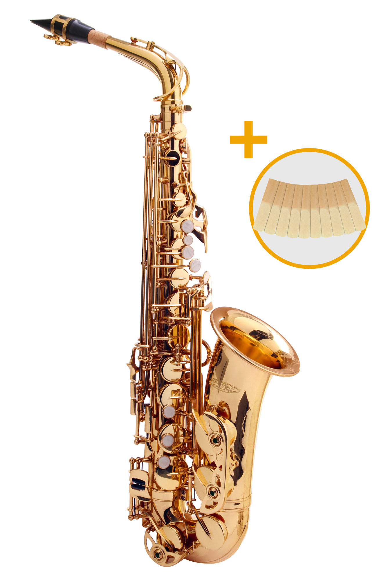 Saxophone - Classic Cantabile Winds AS 450 Es Altsaxophon Set - Onlineshop Musikhaus Kirstein