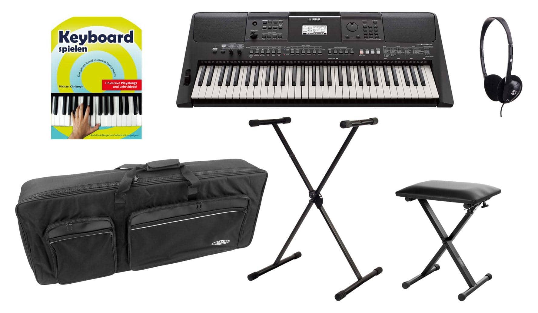 Yamaha PSR E463 Keyboard Deluxe Set