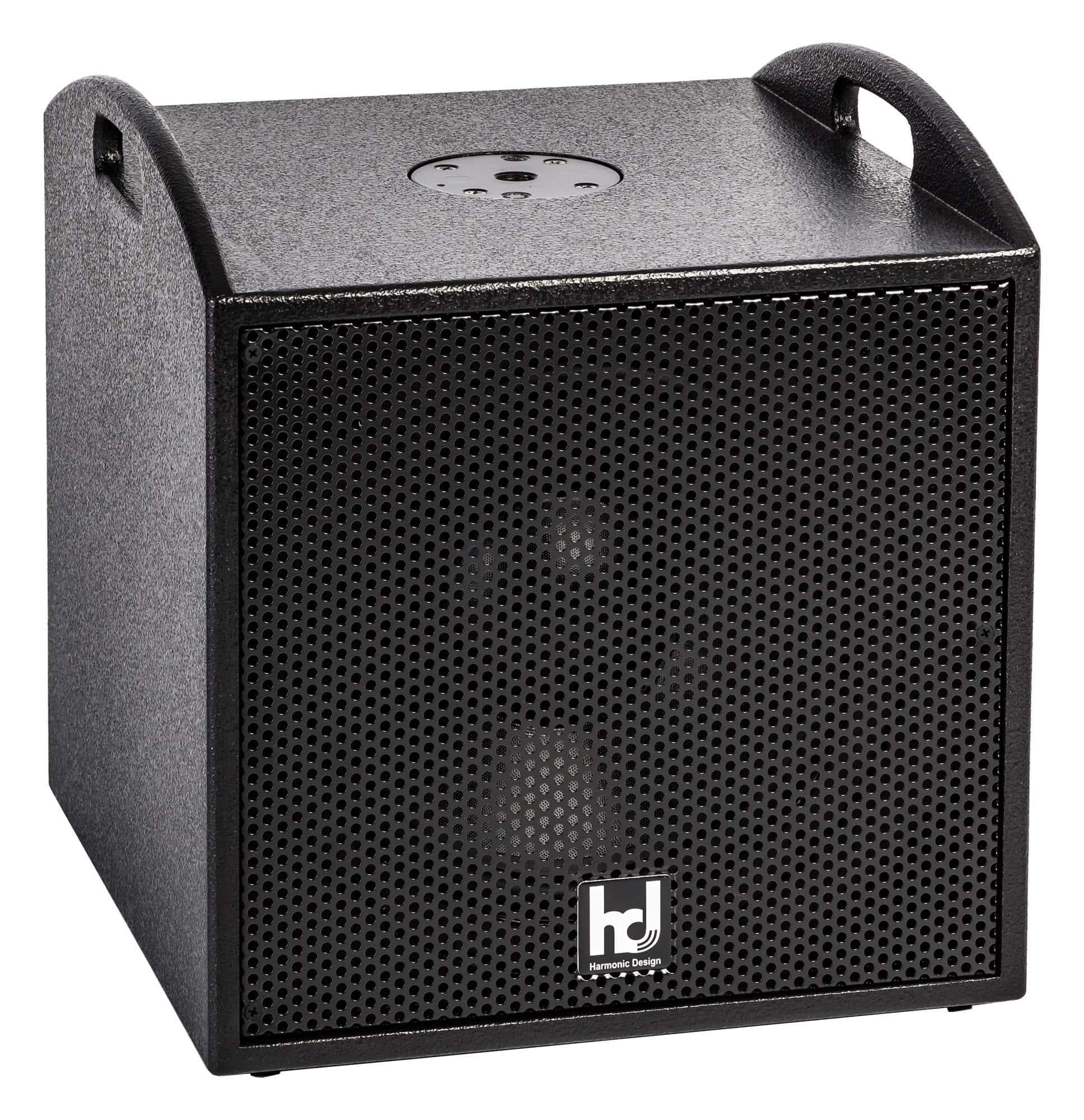 Harmonic Design P12st aktiv Stereo Subwoofer 1500 Watt