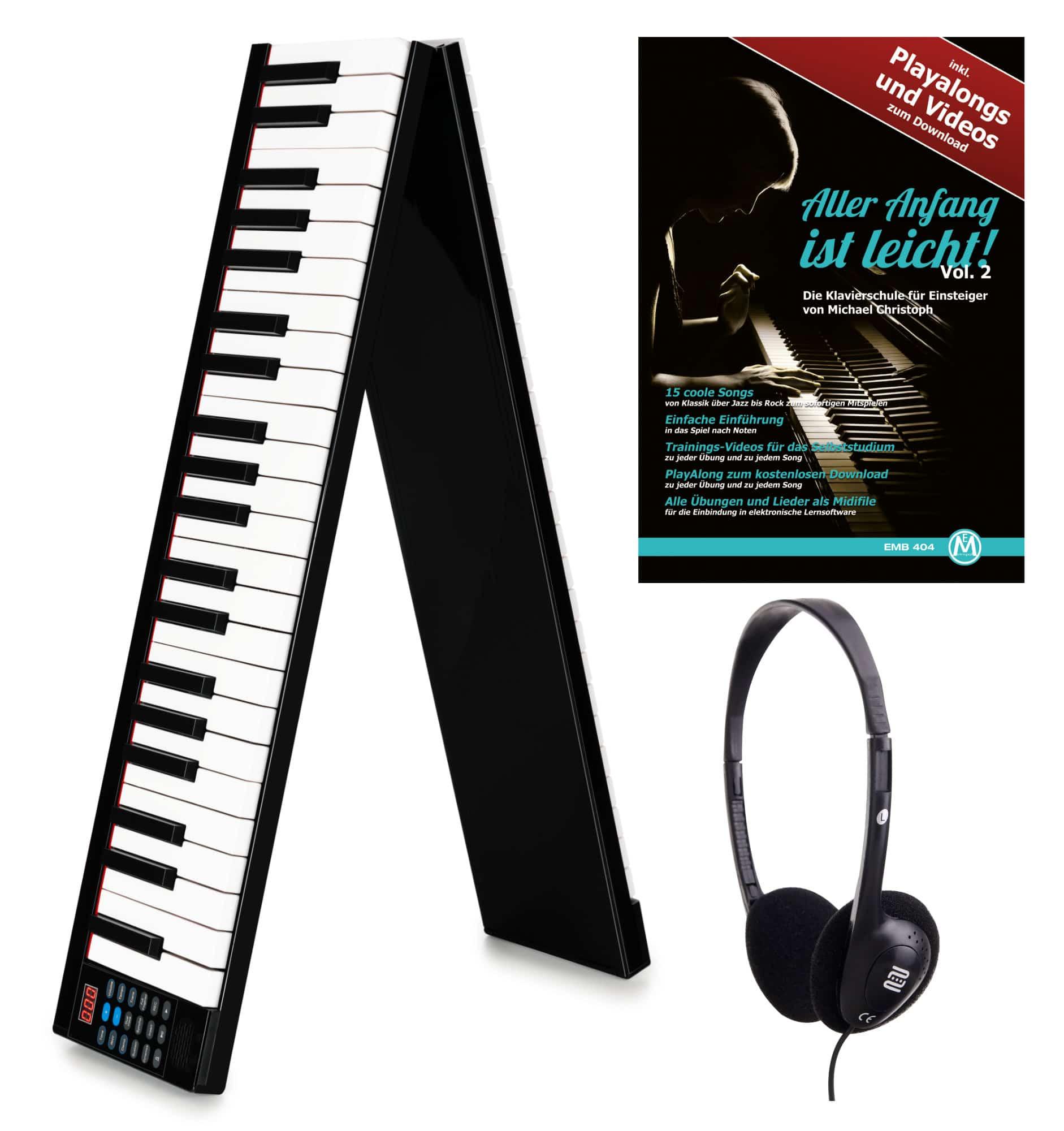 Homekeyboards - FunKey KP 88 Klapp Piano Set - Onlineshop Musikhaus Kirstein
