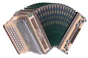 Kärntnerland Bronze Edelholz Ahorn Hochglanz Harmonika 4|III G C F B
