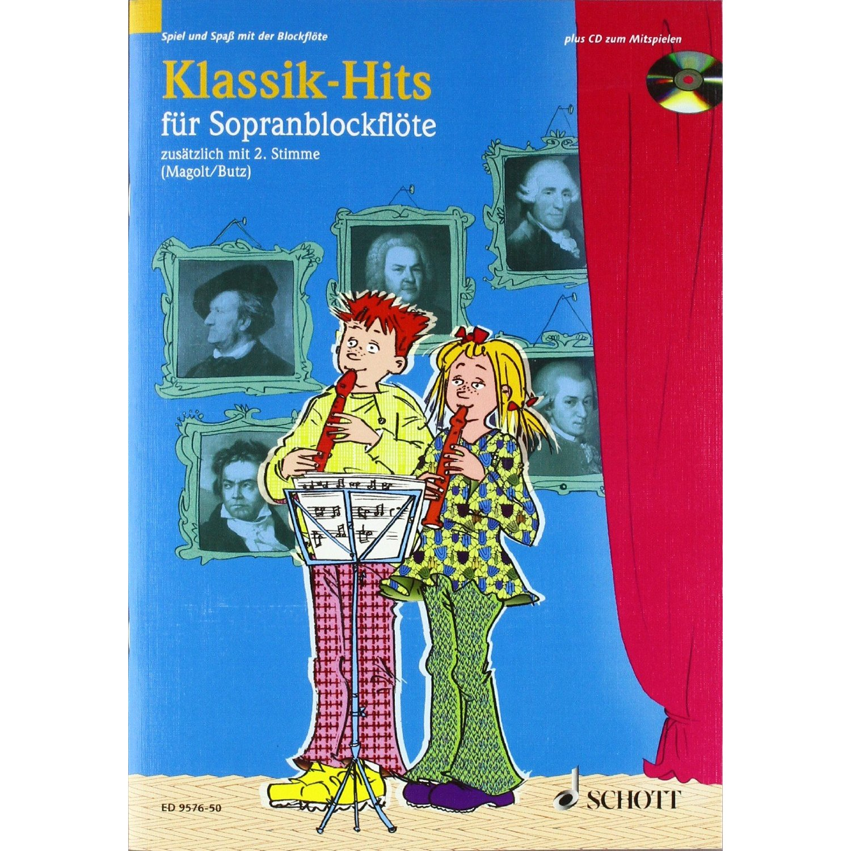 Floetelernen - Klassik Hits für Sopranblockflöte - Onlineshop Musikhaus Kirstein