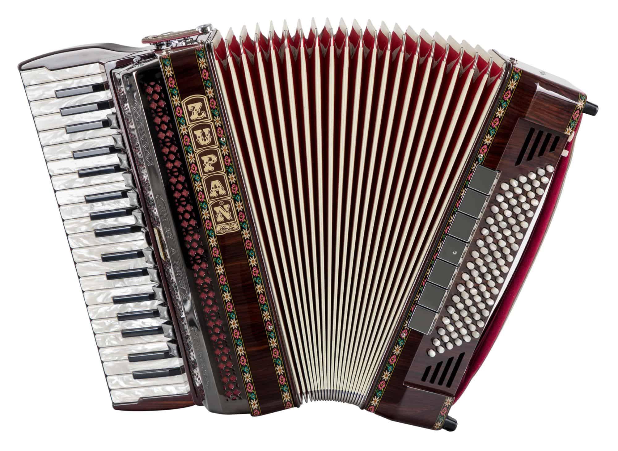 Akkordeons - Zupan Alpe V 96 EF|MHR Cassotto Akkordeon Palisander - Onlineshop Musikhaus Kirstein