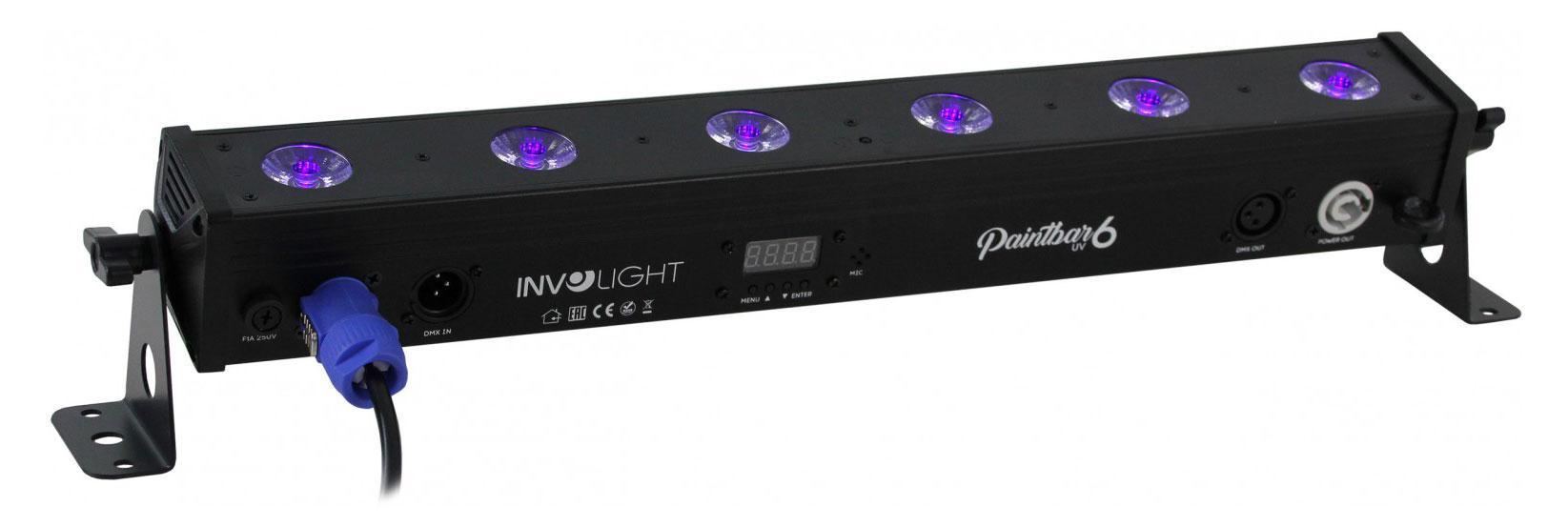 Lichteffekte - Involight PaintBAR UV6 Leiste - Onlineshop Musikhaus Kirstein