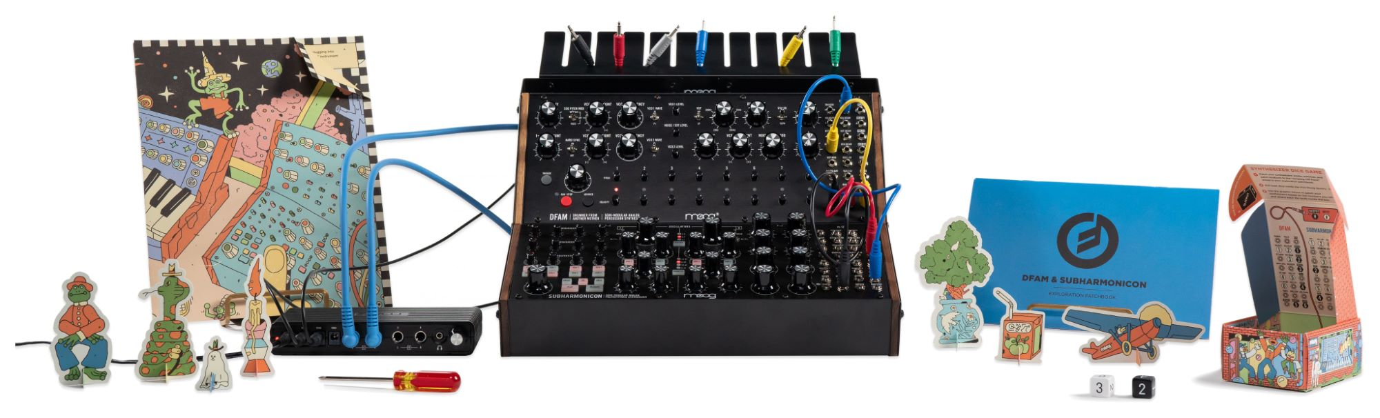Synthesizer - Moog Sound Studio DFAM Subharmonicon - Onlineshop Musikhaus Kirstein