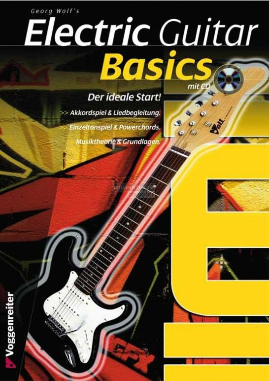 Gitarrelernen - Electric Guitar Basics mit CD - Onlineshop Musikhaus Kirstein