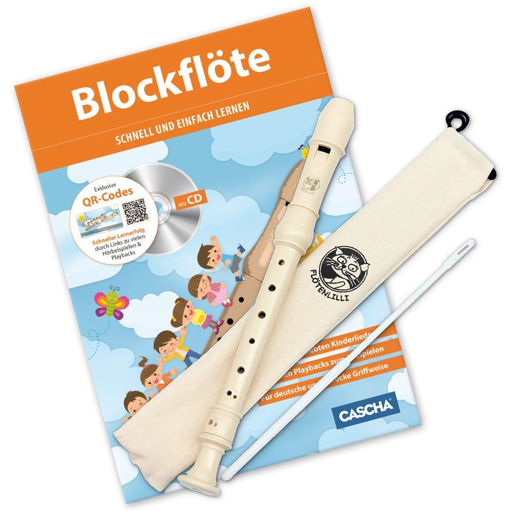 Sonstigeblasinstrumente - Cascha Blockflöten Set Barocke Griffweise - Onlineshop Musikhaus Kirstein