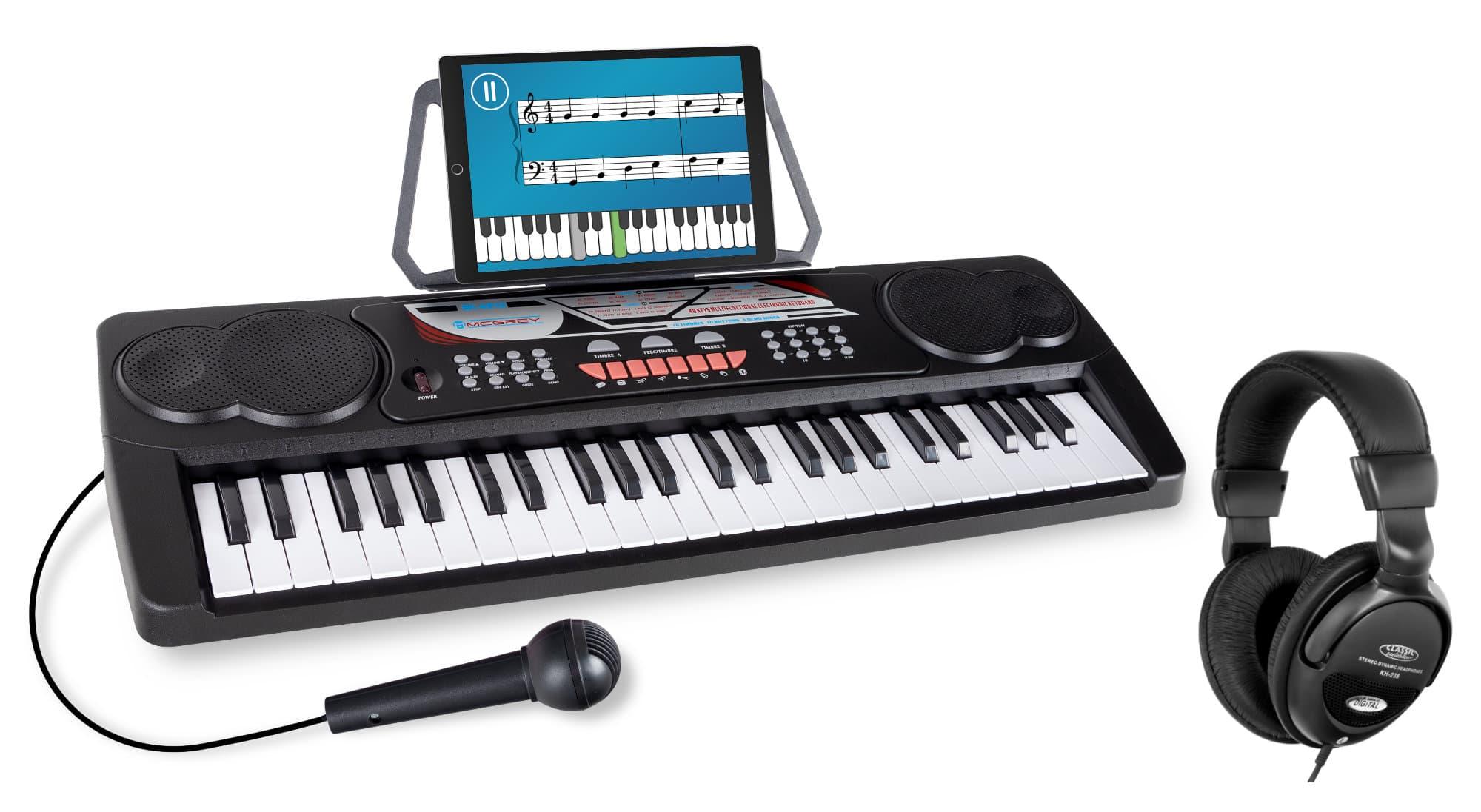 McGrey BK 4910 Beginner Keyboard SET inkl. Kopfhörer