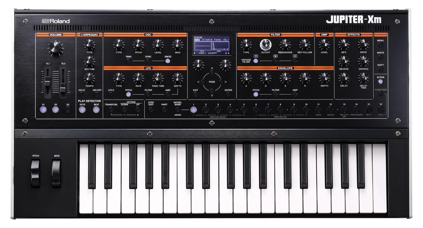 Roland Jupiter-Xm Digitaler Synthesizer