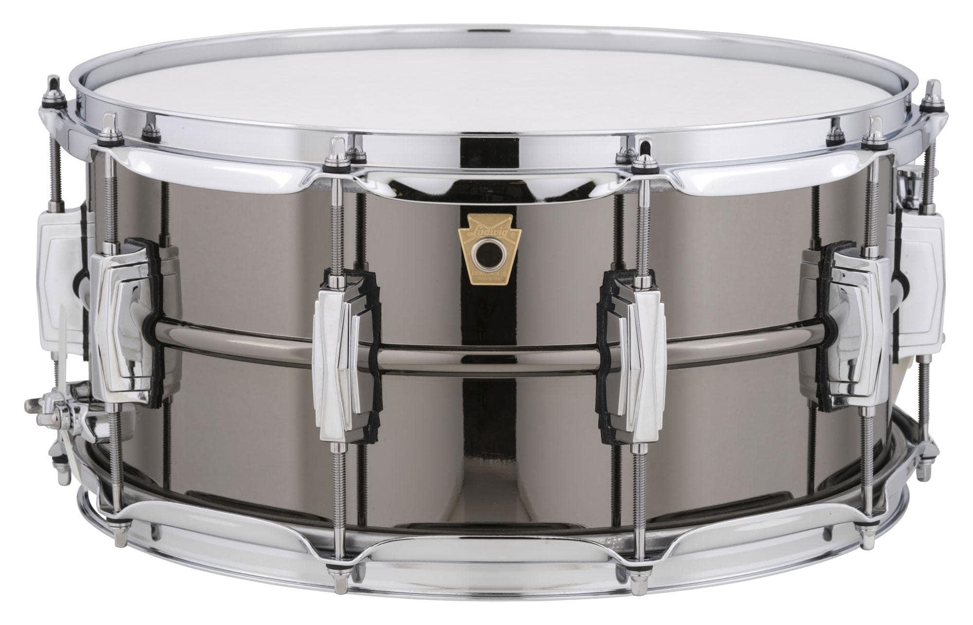 ludwig lb417 black beauty snare drum 14 x 6 5. Black Bedroom Furniture Sets. Home Design Ideas