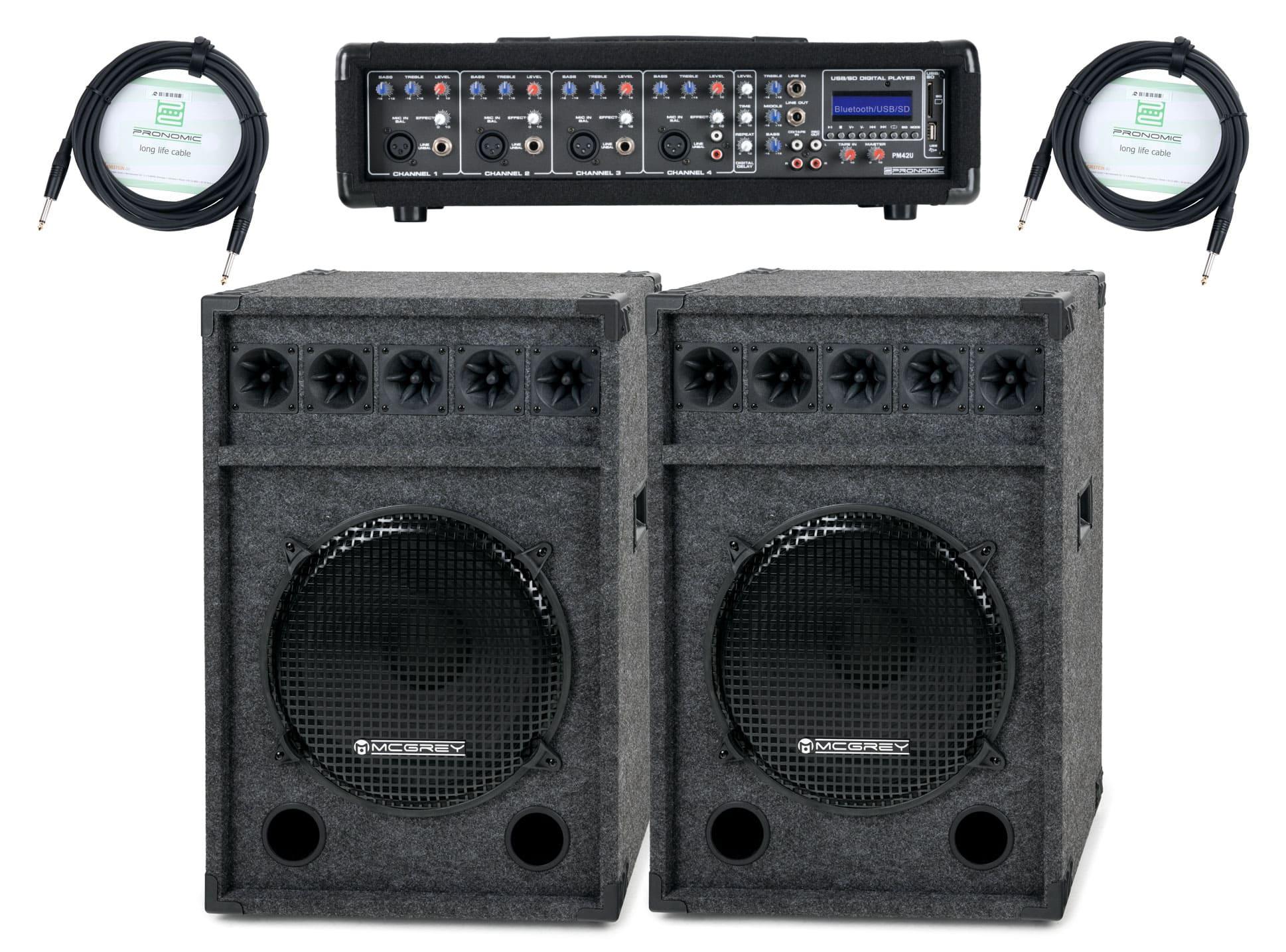 Pronomic PM42 Festival StagePower Set